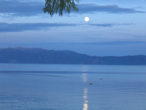 Full Moon Lake Tahoe (c) Kathy Loh