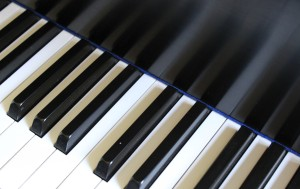 piano keyboard (c) March 2010 Kathy J Loh